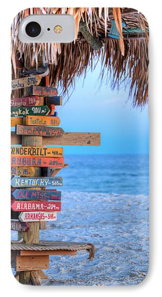 Mileage To Paradise  IPhone Case by JC Findley