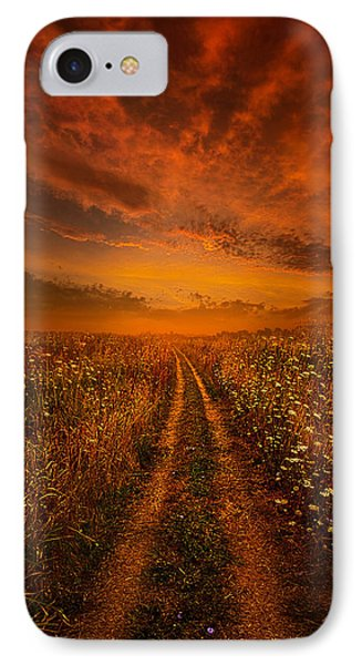 Miles And Miles Away IPhone Case by Phil Koch