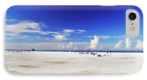 IPhone Case featuring the photograph Miles And Miles Of White Sand by Gary Wonning