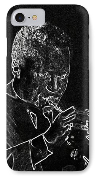 Miles Davis IPhone Case by Charles Shoup