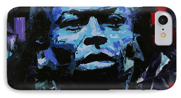 IPhone Case featuring the painting Miles Davis by Richard Day