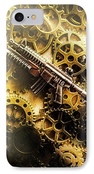Military Mechanics IPhone Case by Jorgo Photography - Wall Art Gallery
