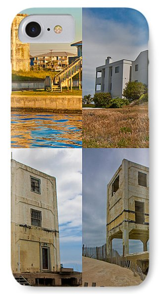 Military Observation Towers Operation Bumblebee IPhone Case by Betsy Knapp
