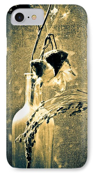 Milk Weed And Hay IPhone Case by Bob Orsillo
