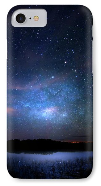 Milky Way At 9 Mile Pond IPhone Case by Mark Andrew Thomas