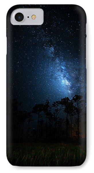 IPhone Case featuring the photograph Milky Way At Big Cypress National Preserve by Mark Andrew Thomas