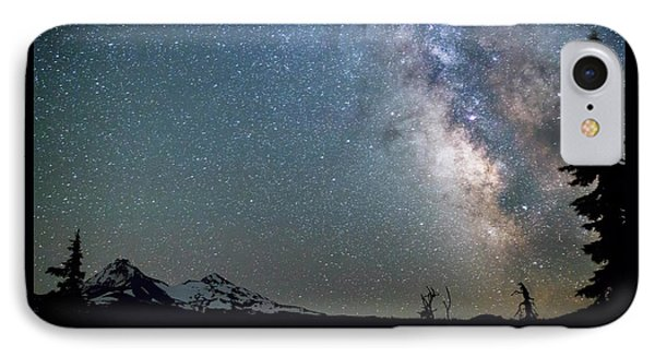 IPhone Case featuring the photograph Milky Way At Mckenzie Pass by Cat Connor