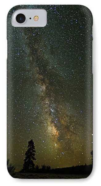 IPhone Case featuring the photograph Milky Way From Central Oregon by Angie Vogel