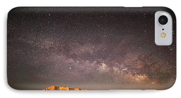 Milky Way Over Lechee Rock Near Page Az IPhone Case