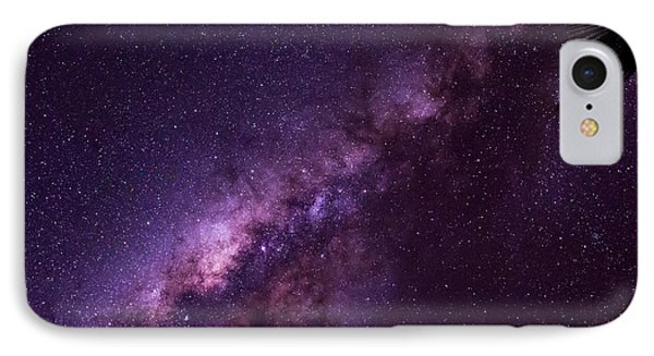Milky Way Over Mission Beach IPhone Case by Avian Resources