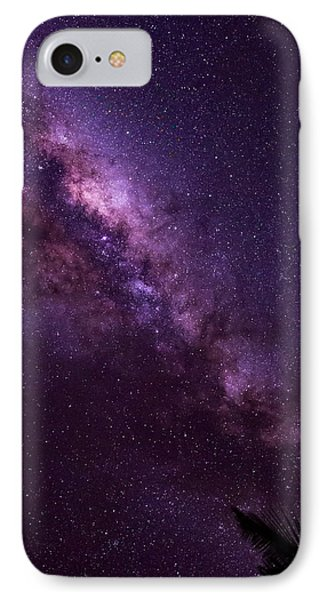 Milky Way Over Mission Beach Vertical IPhone Case by Avian Resources