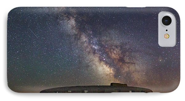 IPhone Case featuring the photograph Milky Way Over Stonehendge by Cat Connor