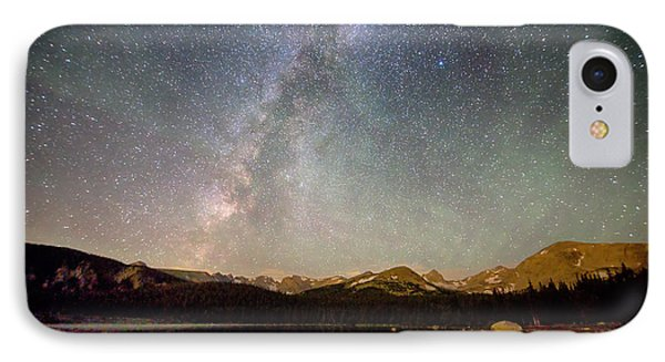Milky Way Over The Colorado Indian Peaks IPhone Case by James BO  Insogna