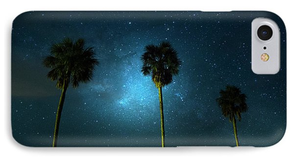 Milky Way Planet IPhone Case by Mark Andrew Thomas