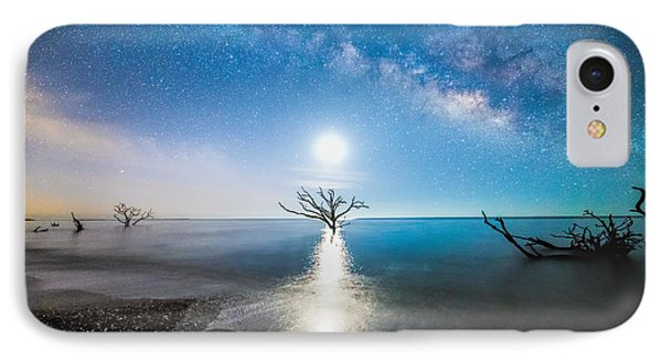 Milky Way Shore IPhone Case by Robert Loe