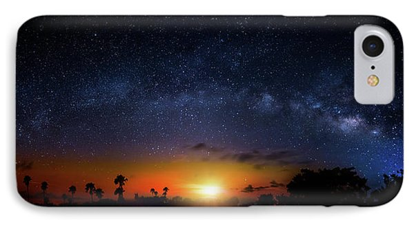 IPhone Case featuring the photograph Milky Way Sunrise by Mark Andrew Thomas