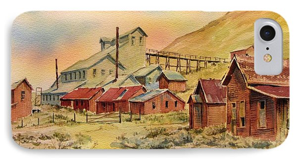 Mill Bodie Ghost Town California Phone Case by Kevin Heaney