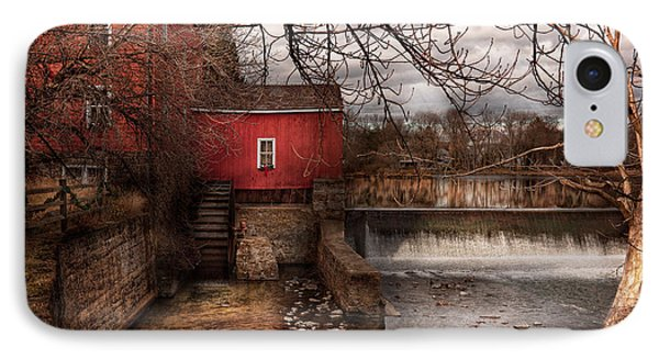 Mill - Clinton Nj - The Mill And Wheel Phone Case by Mike Savad