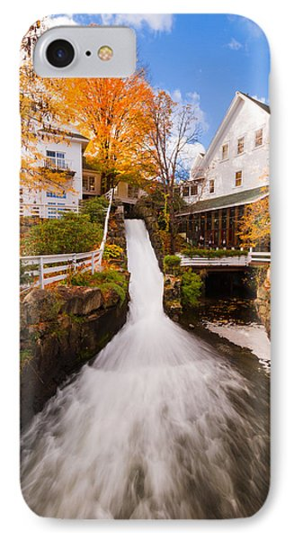IPhone Case featuring the photograph Mill Falls by Robert Clifford