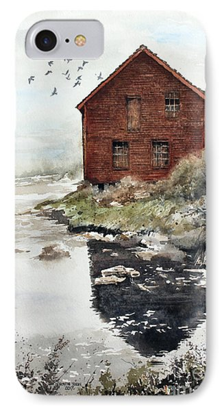 Mill Pond Phone Case by Monte Toon
