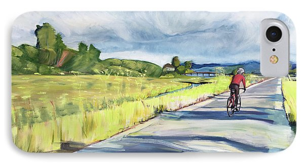 Mill Valley Bike Path Phone Case by Colleen Proppe