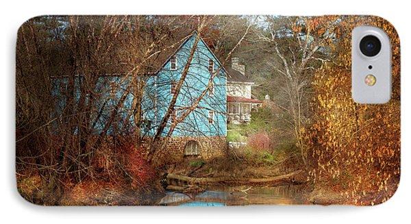 Mill - Walnford, Nj - Walnford Mill IPhone Case by Mike Savad