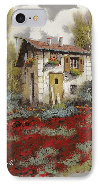 Mille Papaveri Phone Case by Guido Borelli
