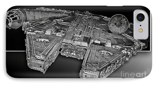 Millennium Falcon Attack IPhone Case