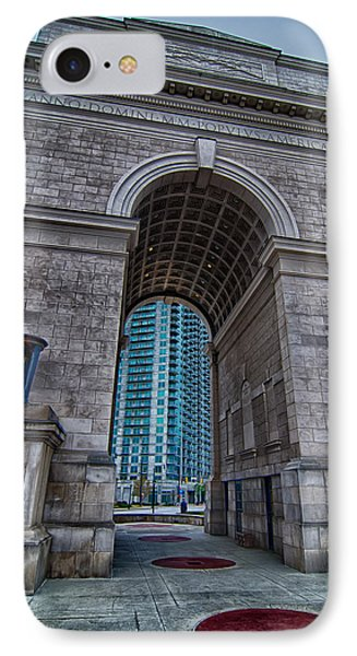 Millennium Gate Triumphal Arch At Atlantic Station In Midtown At IPhone Case