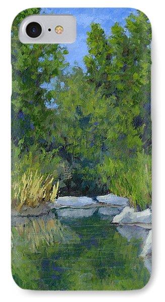 Millrace Pond IPhone Case