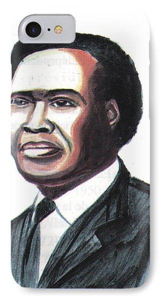 Milton Apolo Obote IPhone Case by Emmanuel Baliyanga