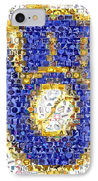 Milwaukee Brewers Mosaic IPhone Case