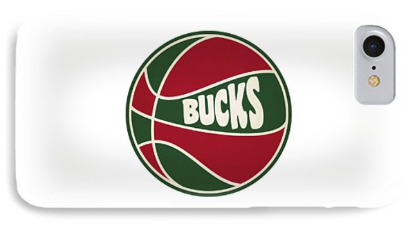 Milwaukee Bucks Retro Shirt IPhone Case by Joe Hamilton