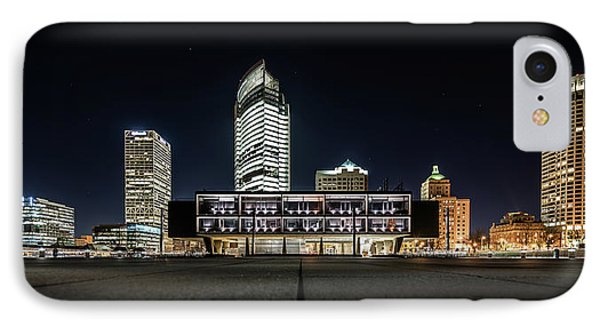 Milwaukee County War Memorial Center IPhone Case by Randy Scherkenbach