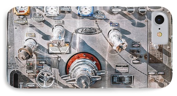 Truck iPhone 7 Case - Milwaukee Fire Department Engine 27 by Scott Norris