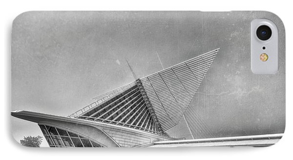 IPhone Case featuring the photograph Milwaukee Museum Of Art Special 2 by David Haskett