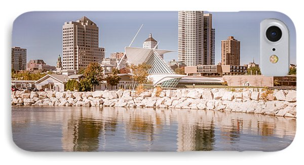 Milwaukee Skyline Picture IPhone Case by Paul Velgos