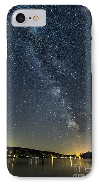 Milky Way From A Pontoon Boat IPhone Case by Patrick Fennell