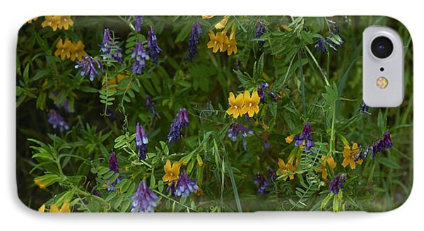 Mimulus And Vetch Phone Case by Doug Herr