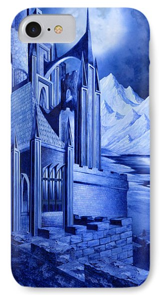 Minas Tirith IPhone Case by Curtiss Shaffer