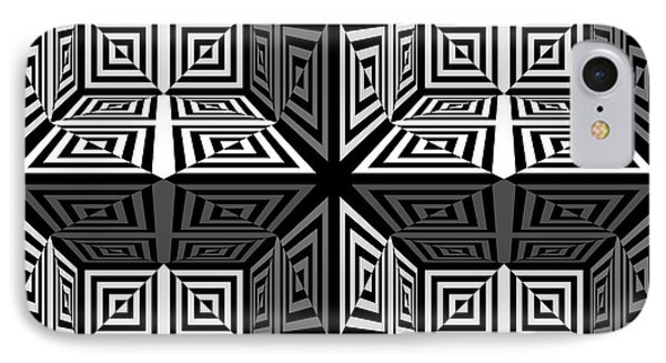 Mind Games 3d 2b IPhone Case by Mike McGlothlen