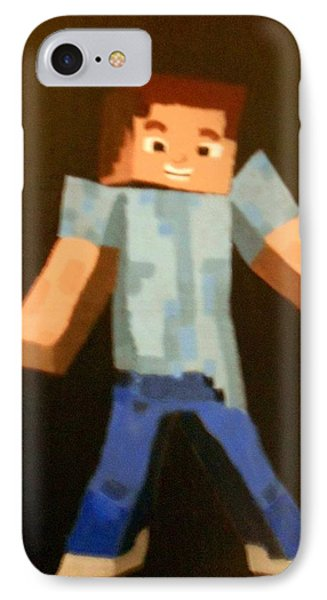 Minecraft Steve IPhone Case by Sheri Keith via Jayd