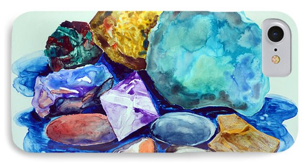 Minerals And Beachstones IPhone Case