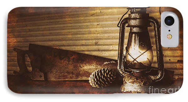 Miners Cottage Details IPhone Case by Jorgo Photography - Wall Art Gallery