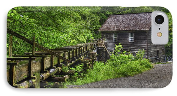 IPhone Case featuring the photograph Mingus Mill 2 Mingus Creek Great Smoky Mountains Art by Reid Callaway