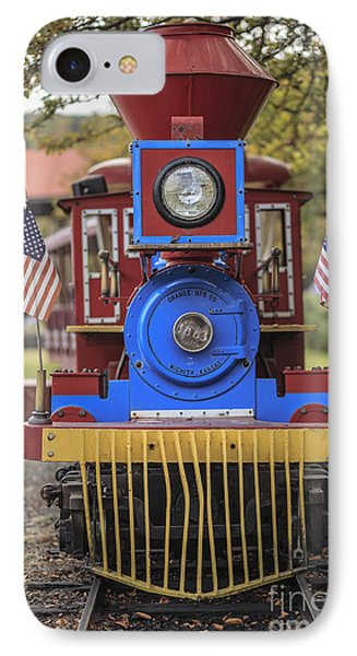 Mini Fun Train Quechee Vermont IPhone Case by Edward Fielding