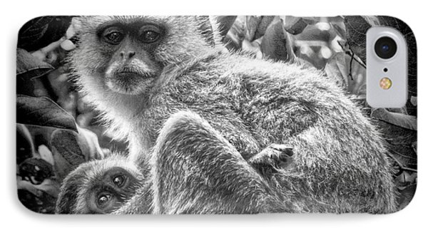 Mini Me Monkey IPhone Case
