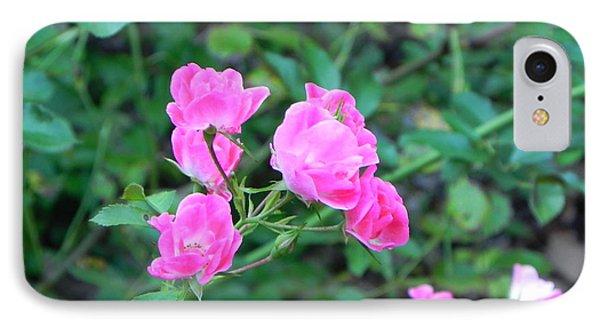 Mini Roses Phone Case by John Parry