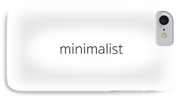 Minimalist IPhone Case