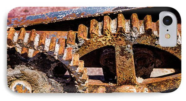 IPhone Case featuring the photograph Mining Gears by Onyonet  Photo Studios